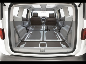 Chevrolet Orlando - все сиденья разобраны