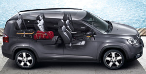 Салон автомобиля Chevrolet Orlando