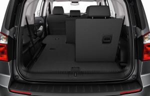 Orlando - багажник и складывание сидений