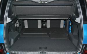 Багажное отделение Citroen C3 Picasso