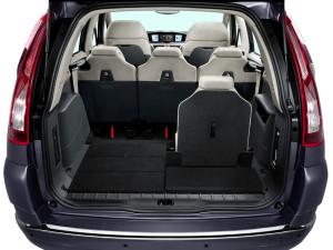 Citroen Grand C4 Picasso - вид багажного отделения