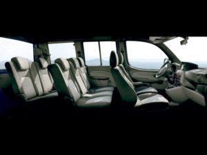 7 мест в Fiat Doblo Panorama