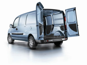 Fiat Doblo Cargo - багажник фургона
