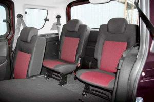 Третий ряд Fiat Doblo Panorama