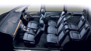 7 мест в минивэне Ford Galaxy