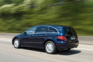 Mercedes-Benz R-Class на трассе
