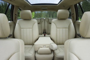 Роскошный салон Mercedes-Benz R-Class