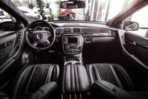 Водительское место Mercedes-Benz R-Class