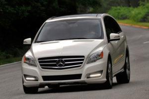 Mercedes-Benz R-Class - вид спереди