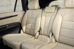 Сиденья в минивэне Mercedes-Benz R-Class