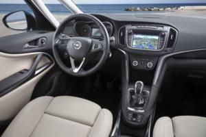 Водительское место Opel Zafira