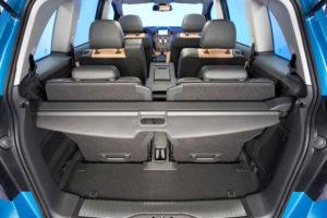 Багажник и сиденья