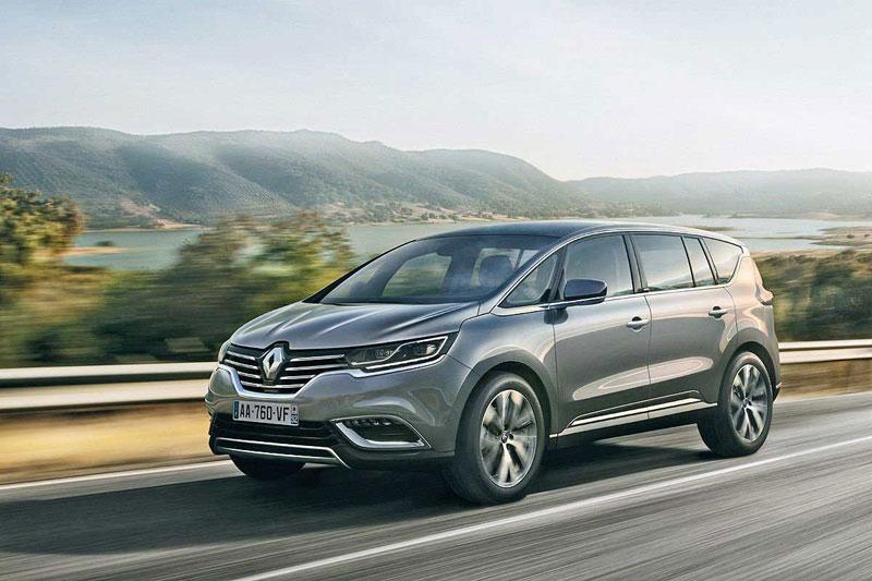 Renault Espace на трассе
