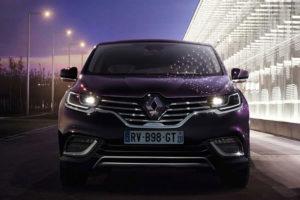 Renault Espace - вид спереди