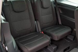 Третий ряд сидений Seat Alhambra