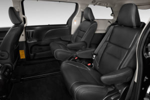 Сиденья в Toyota Sienna