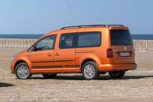 Volkswagen Caddy - вид сзади