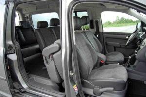 Салон Volkswagen Caddy