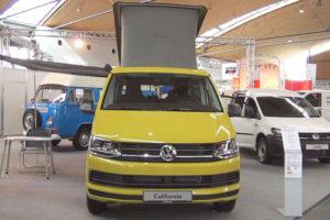 Volkswagen California - вид спереди