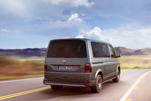 Volkswagen Multivan - вид сзади