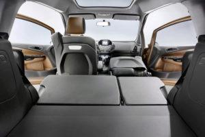 Раскладывание сидениий в Ford B-Max
