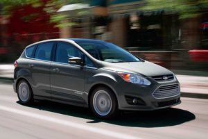Ford C-Max в движении