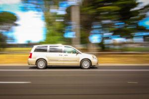 Chrysler Voyager на трассе