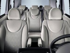 7 мест в автомобиле Citroen Jumpy Multispace