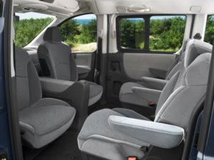 Citroen Jumpy - салон автомобиля