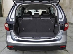 Багажное отделение Mazda 5