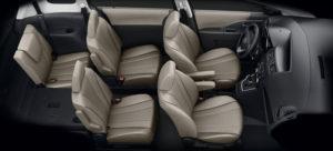 Семиместный салон Mazda 5