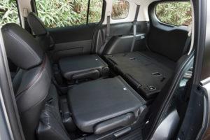 Складывание сидений в Mazda 5