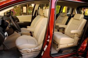 Салон Mazda 5