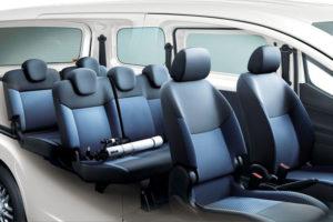 Сиденья в Nissan NV200