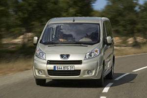 Peugeot Expert Tepee - вид спереди